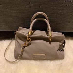 Marc by Marc Jacobs Soft Lamb Leather Grey Purse